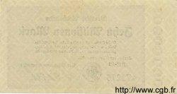 10 Millionen Mark ALLEMAGNE  1923 PS.1014 pr.SUP
