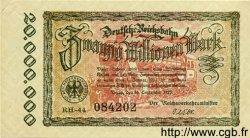 20 Millionen Mark ALLEMAGNE  1923 PS.1015 SUP