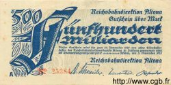 500 Milliarden Mark ALLEMAGNE  1923 PS.1124 TTB