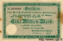 1 Million Mark ALLEMAGNE  1923 PS.1255 TTB