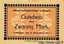20 mark ALLEMAGNE Cellelager 1917 K.27 SPL