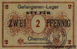 2 Pfennig ALLEMAGNE Chemnitz 1917 K.29 pr.NEUF
