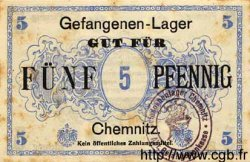 5 Pfennig ALLEMAGNE Chemnitz 1917 K.29 TTB