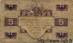 5 Pfennig ALLEMAGNE  1917 K.38 TB