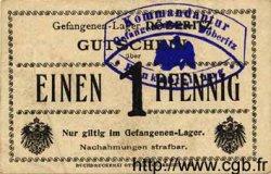1 Pfennig ALLEMAGNE  1917 K.40c TTB