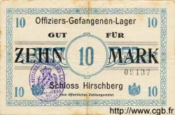 10 Mark ALLEMAGNE Schloss Hirschberg 1917 K.- TB+