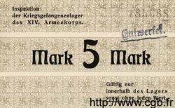 5 Mark ALLEMAGNE Karlsruhe 1917 K.75 SPL
