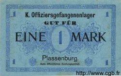 1 Mark ALLEMAGNE Plassenburg 1917 K.108 SUP