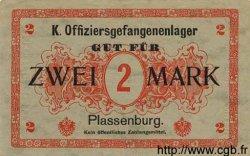 2 Mark ALLEMAGNE Plassenburg 1917 K.108 SUP