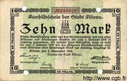 10 Mark ALLEMAGNE  1918 K.12f TB