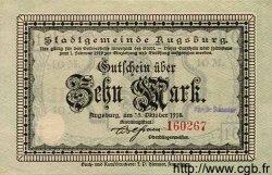 10 Mark ALLEMAGNE  1918 K.23f NEUF