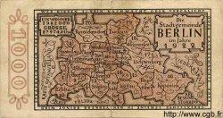 1000 Mark ALLEMAGNE Berlin 1922 K.44 TB
