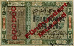 500000 Mark sur 100 Mark ALLEMAGNE Berlin 1923 K.339b B