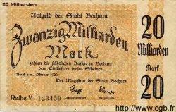 20 Milliards Mark ALLEMAGNE  1923  pr.SUP