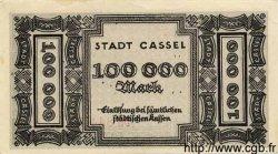 100000 Mark ALLEMAGNE Cassel 1923 K.718b SUP