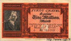 1 Million Mark ALLEMAGNE Cassel 1923 K.718e TB+