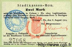 2 Mark ALLEMAGNE  1914 K.65 pr.SUP