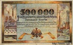 500000 Mark ALLEMAGNE  1923 K.106ld TTB