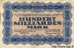 100 Milliarden Mark ALLEMAGNE  1923 K.1153o TB
