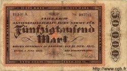 50000 Mark ALLEMAGNE Essen 1923 K.1429a TB