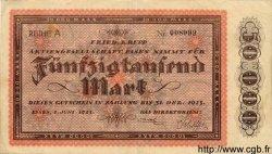 50000 Mark ALLEMAGNE Essen 1923 K.1429a SUP