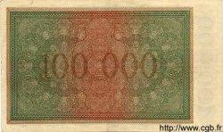 100000 Mark ALLEMAGNE  1923  SUP