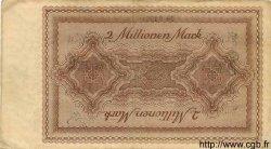2 Millionen Mark ALLEMAGNE  1923 K.1429k TTB+