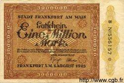 1 Million Mark ALLEMAGNE  1923 K.1522c TTB