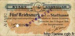 5 Reichsmark ALLEMAGNE  1914 K.110 TB+