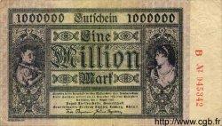 1 Million Mark ALLEMAGNE  1923 K.2106i TTB