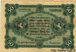 5 Millionen Mark sur 50 ALLEMAGNE Hannovre 1923 K.2156 TB+