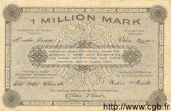 1 Million Mark ALLEMAGNE Hannovre 1923 Han.10b TTB+