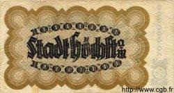 10 Millionen Mark ALLEMAGNE  1923 K.2392c TB+
