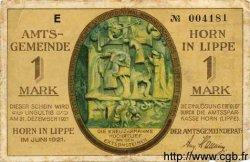 1 Mark ALLEMAGNE  1921 K.IV494e TB