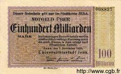 100 Milliarden Mark ALLEMAGNE  1923 K.2513d SUP+