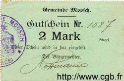 2 Mark ALLEMAGNE Moosch 1914 K.242 TTB+