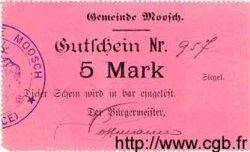 5 Mark ALLEMAGNE Moosch 1914 K.242 SUP