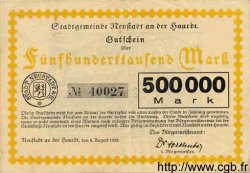 500000 Mark  GERMANY Neustadt An Der Haardt 1923 K.3858a