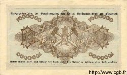 1 Million Mark ALLEMAGNE  1923 K.4460c SUP+