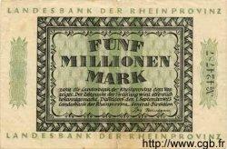 5 Millionen Mark ALLEMAGNE  1923 Rpr.19b TB+