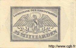 25 Milliarden Mark ALLEMAGNE  1923 Rpr.32b SUP