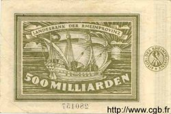 500 Milliarden Mark ALLEMAGNE  1923 Rpr.37 TTB