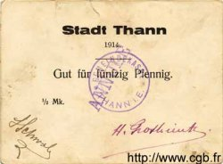 50 Pfennig ALLEMAGNE Thann 1914 K.396 TTB