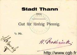 50 Pfennig ALLEMAGNE Thann 1914  SPL