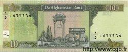 10 Afghanis AFGHANISTAN  2002 P.067 NEUF