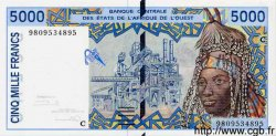 5000 Francs BURKINA FASO  1998 P.313Cg NEUF