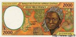 2000 Francs GABON  1994 P.403Lb NEUF