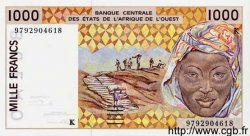 1000 Francs SÉNÉGAL  1998 P.711Kg NEUF