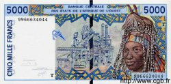 5000 Francs TOGO  1999 P.813Tg NEUF