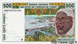 500 Francs GUINÉE BISSAU  1998 P.910b NEUF